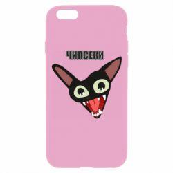 Чехол для iPhone 6 Plus/6S Plus Чипсеки кот мем