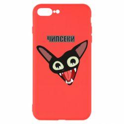 Чехол для iPhone 7 Plus Чипсеки кот мем
