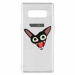 Чехол для Samsung Note 8 Чипсеки кот мем