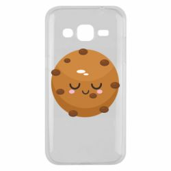 Чехол для Samsung J2 2015 Chocolate Cookies