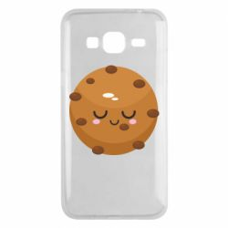 Чехол для Samsung J3 2016 Chocolate Cookies