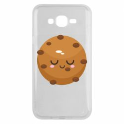 Чехол для Samsung J7 2015 Chocolate Cookies