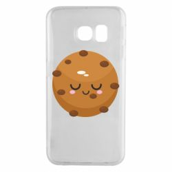 Чехол для Samsung S6 EDGE Chocolate Cookies