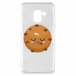 Чехол для Samsung A8 2018 Chocolate Cookies