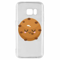 Чехол для Samsung S7 Chocolate Cookies