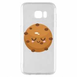 Чехол для Samsung S7 EDGE Chocolate Cookies