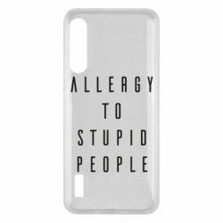 Чохол для Xiaomi Mi A3 Allergy To Stupid People