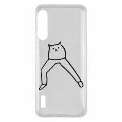 Чохол для Xiaomi Mi A3 Cat in pants