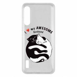 Чохол для Xiaomi Mi A3 Cats and love
