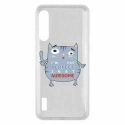 Чохол для Xiaomi Mi A3 Cute cat and text