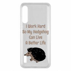 Чохол для Xiaomi Mi A3 Hedgehog with text