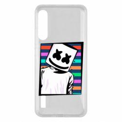 Чохол для Xiaomi Mi A3 Marshmello Colorful Portrait