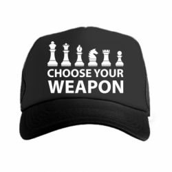Кепка-тракер Choose your weapon