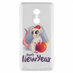 Чехол для Xiaomi Redmi Note 4x Christmas ball mouse