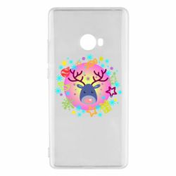 Чехол для Xiaomi Mi Note 2 Christmas ball with a deer and decorations