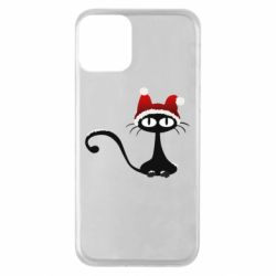 Чехол для iPhone 11 Christmas cat