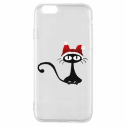 Чехол для iPhone 6/6S Christmas cat