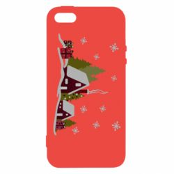 Чохол для iphone 5/5S/SE Christmas houses