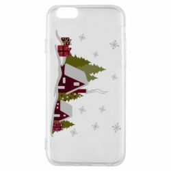 Чохол для iPhone 6/6S Christmas houses