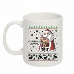 Кружка 320ml Christmas is coming