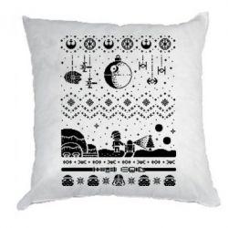 Подушка Christmas pixels, Star Wars