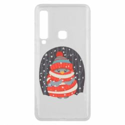 Чехол для Samsung A9 2018 Christmas Sweet Penguin