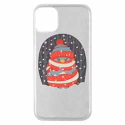 Чехол для iPhone 11 Pro Christmas Sweet Penguin