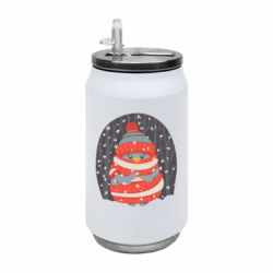 Термобанка 350ml Christmas Sweet Penguin