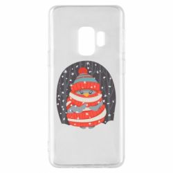Чехол для Samsung S9 Christmas Sweet Penguin