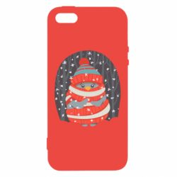 Чехол для iPhone5/5S/SE Christmas Sweet Penguin