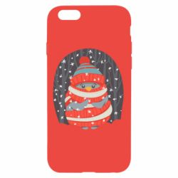 Чехол для iPhone 6/6S Christmas Sweet Penguin