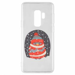 Чехол для Samsung S9+ Christmas Sweet Penguin