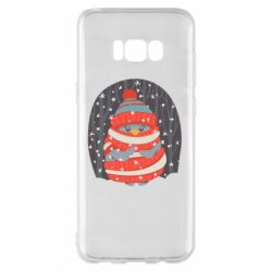 Чехол для Samsung S8+ Christmas Sweet Penguin