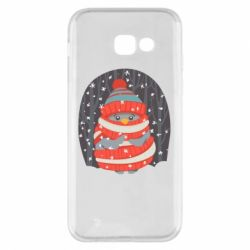 Чехол для Samsung A5 2017 Christmas Sweet Penguin