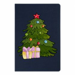 Блокнот А5 Christmas tree and gifts art