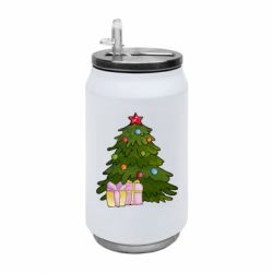 Термобанка 350ml Christmas tree and gifts art