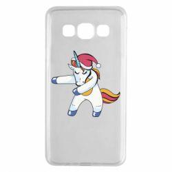 Чохол для Samsung A3 2015 Christmas Unicorn