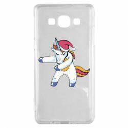 Чохол для Samsung A5 2015 Christmas Unicorn