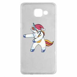 Чохол для Samsung A5 2016 Christmas Unicorn