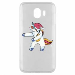 Чохол для Samsung J4 Christmas Unicorn