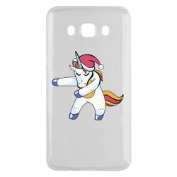 Чохол для Samsung J5 2016 Christmas Unicorn