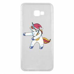 Чохол для Samsung J4 Plus 2018 Christmas Unicorn