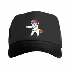 Кепка-тракер Christmas Unicorn