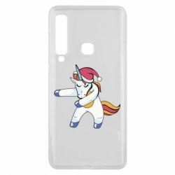Чохол для Samsung A9 2018 Christmas Unicorn