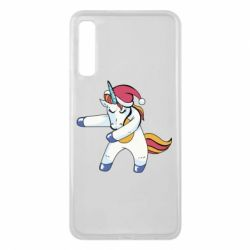 Чохол для Samsung A7 2018 Christmas Unicorn