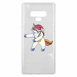 Чохол для Samsung Note 9 Christmas Unicorn