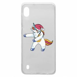 Чохол для Samsung A10 Christmas Unicorn