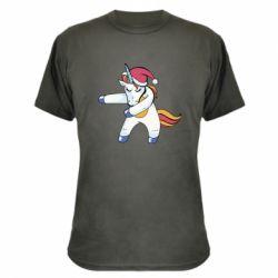 Камуфляжна футболка Christmas Unicorn