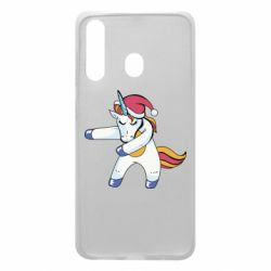 Чохол для Samsung A60 Christmas Unicorn