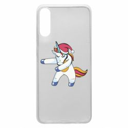 Чохол для Samsung A70 Christmas Unicorn